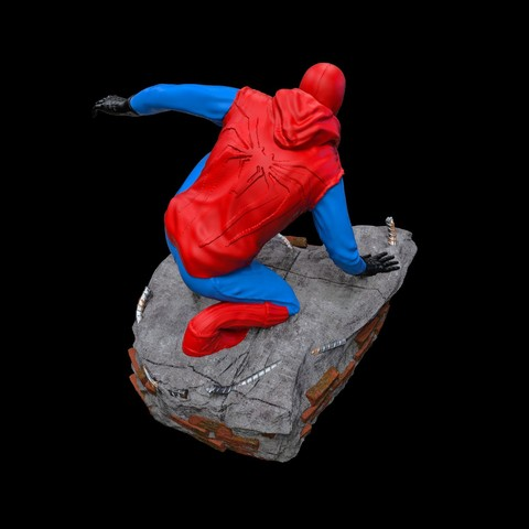18.jpg Download STL file Spider-Man Homemade Suit • Design to 3D print, tolgaaxu