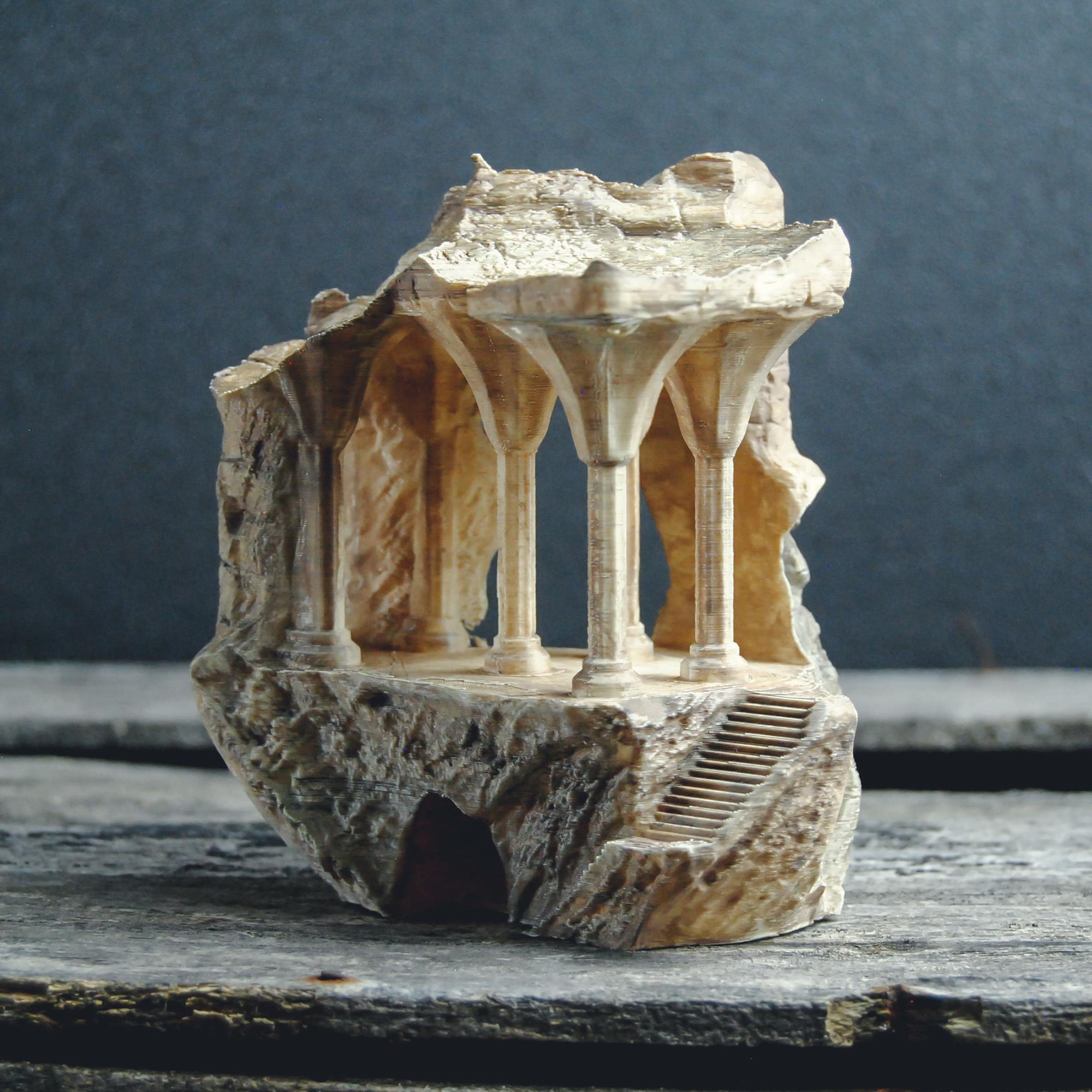 1.JPG Télécharger fichier OBJ Le monument perdu • Design pour impression 3D, tolgaaxu