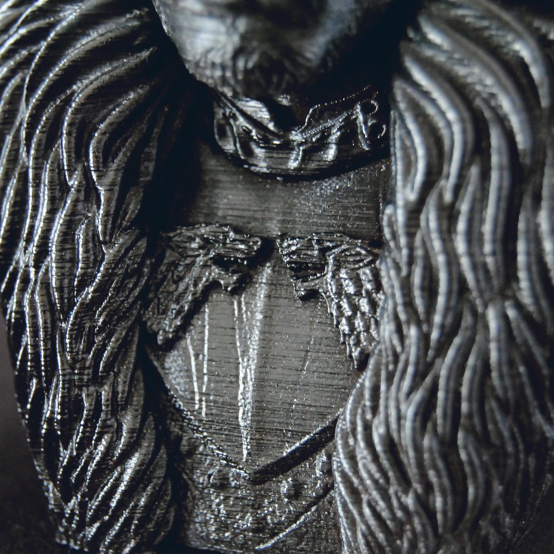 9.jpg Download OBJ file Jon Snow - Game of Thrones • 3D printable template, tolgaaxu
