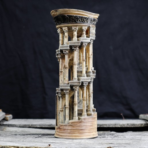 4.jpg Download OBJ file Eternity Columns • 3D printer model, tolgaaxu