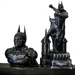 Download 3D printing models BATMAN COLLECTIBLES, tolgaaxu
