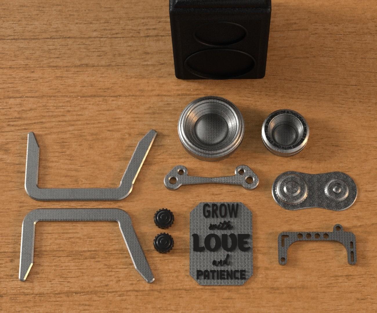 5.jpg Download 3DS file RETRO CAMERA FLOWERPOT • 3D printer template, tolgaaxu