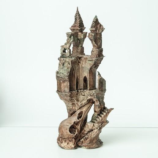1.jpg Télécharger fichier OBJ Ancien château de Raven • Modèle imprimable en 3D, tolgaaxu