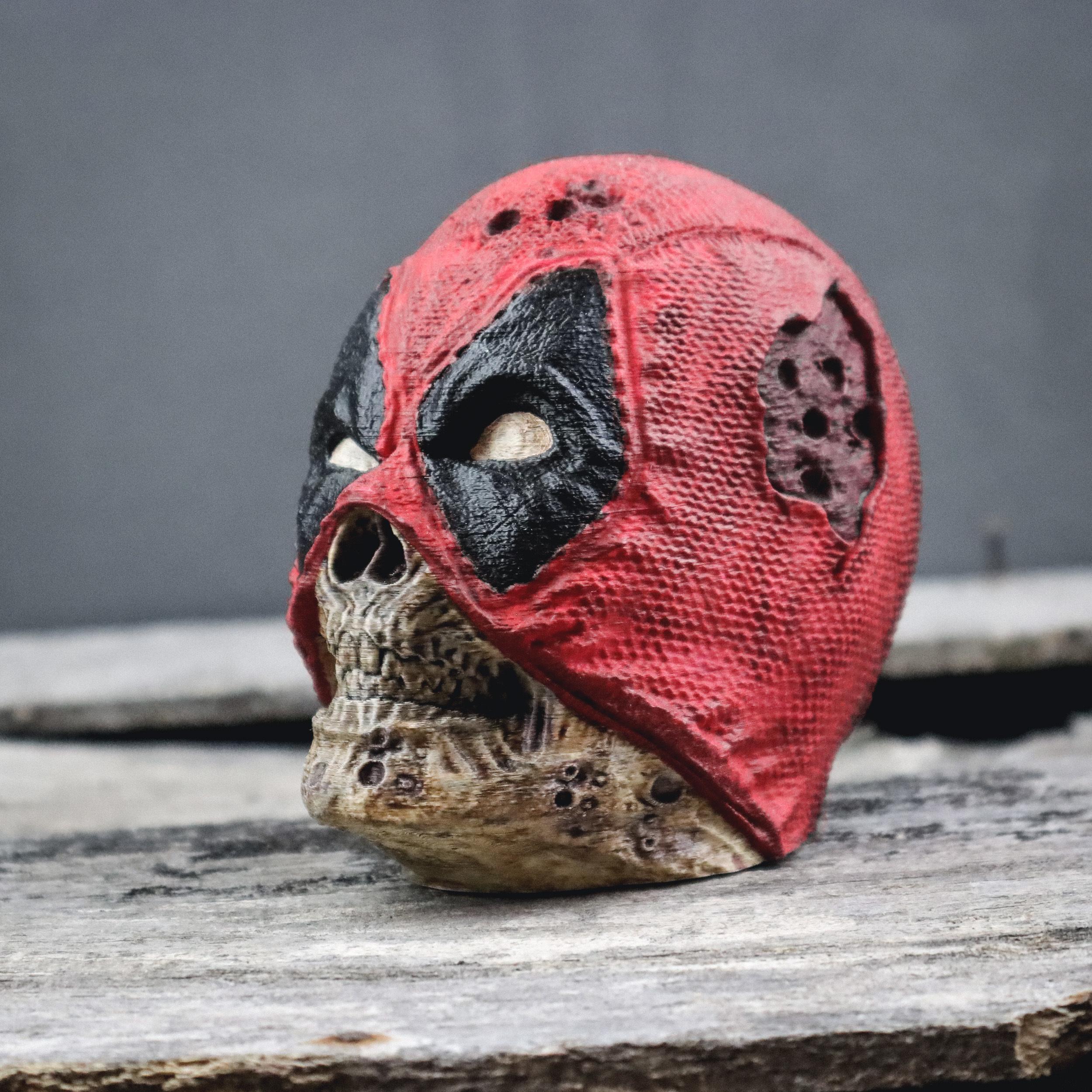 3.jpg Descargar archivo OBJ Zombie Deadpool • Objeto imprimible en 3D, tolgaaxu