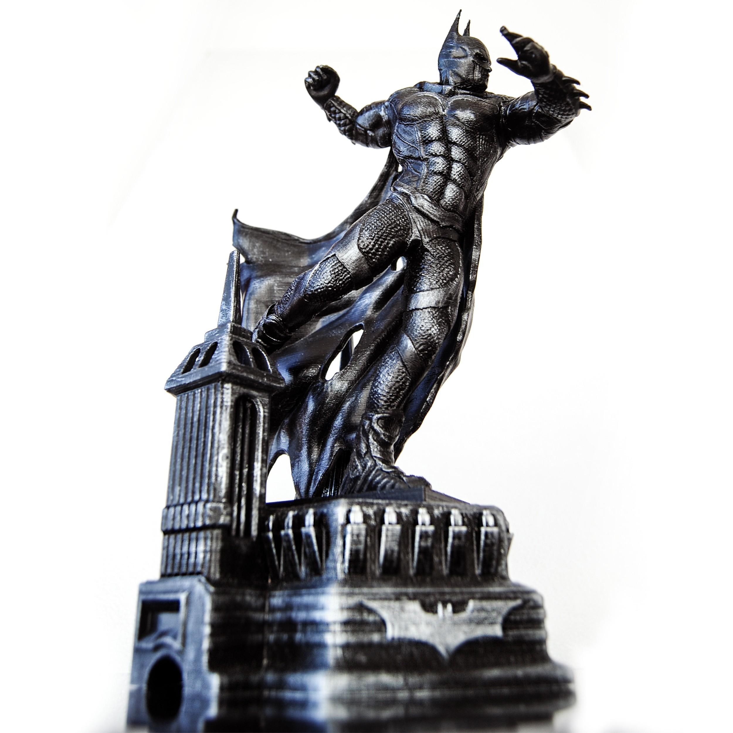 2.jpg Download OBJ file BATMAN Battle Pose • 3D print template, tolgaaxu