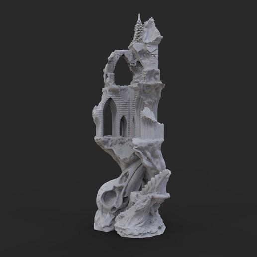 10.jpg Télécharger fichier OBJ Ancien château de Raven • Modèle imprimable en 3D, tolgaaxu