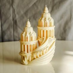 1.jpg Download OBJ file Elven High-Castle • 3D printer template, tolgaaxu