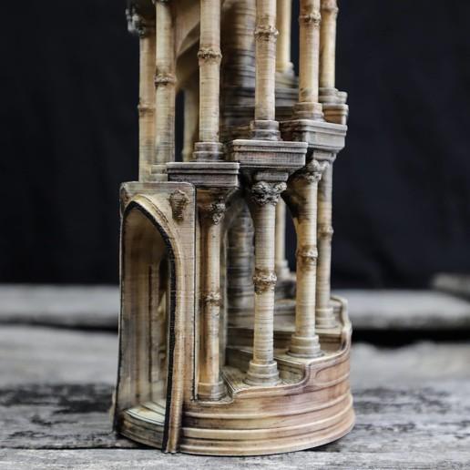 13.jpg Download OBJ file Eternity Columns • 3D printer model, tolgaaxu