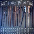 3D print files HARRY POTTER GRAND WAND COLLECTION , tolgaaxu