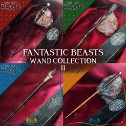 3D printer models FANTASTIC BEASTS WAND COLLECTION 2, tolgaaxu