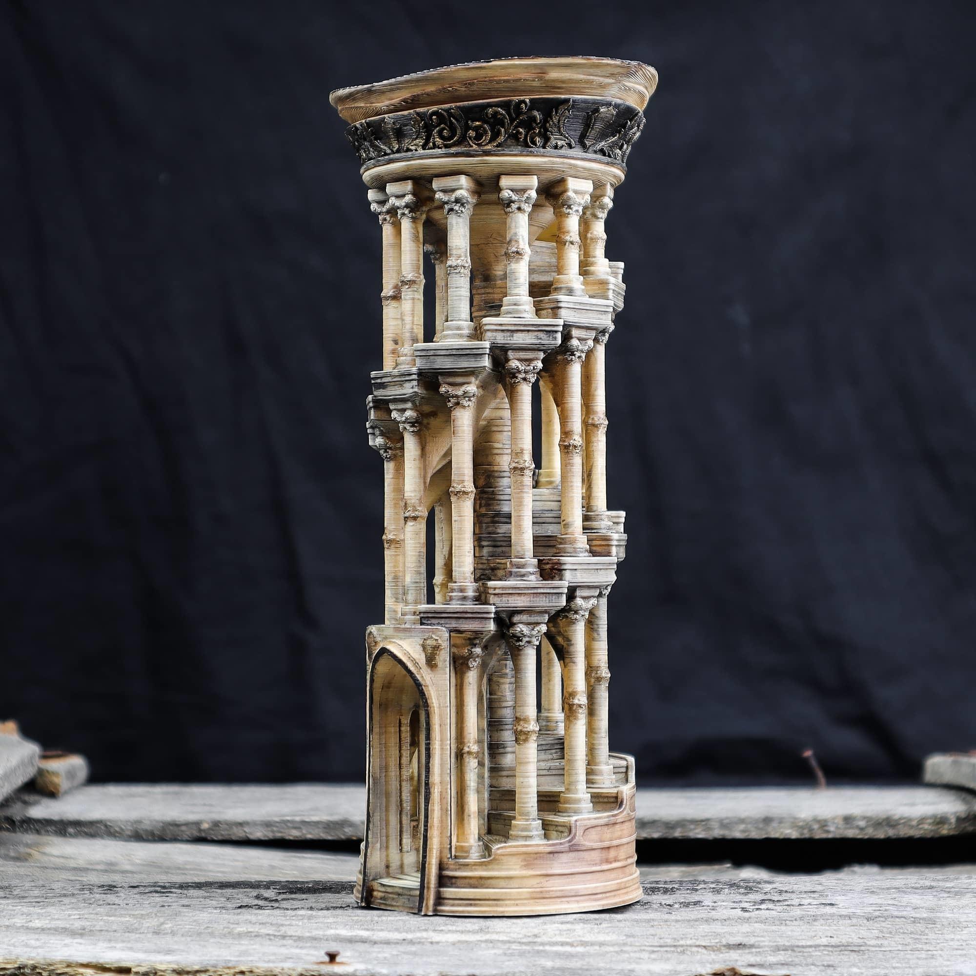 2.jpg Download OBJ file Eternity Columns • 3D printer model, tolgaaxu