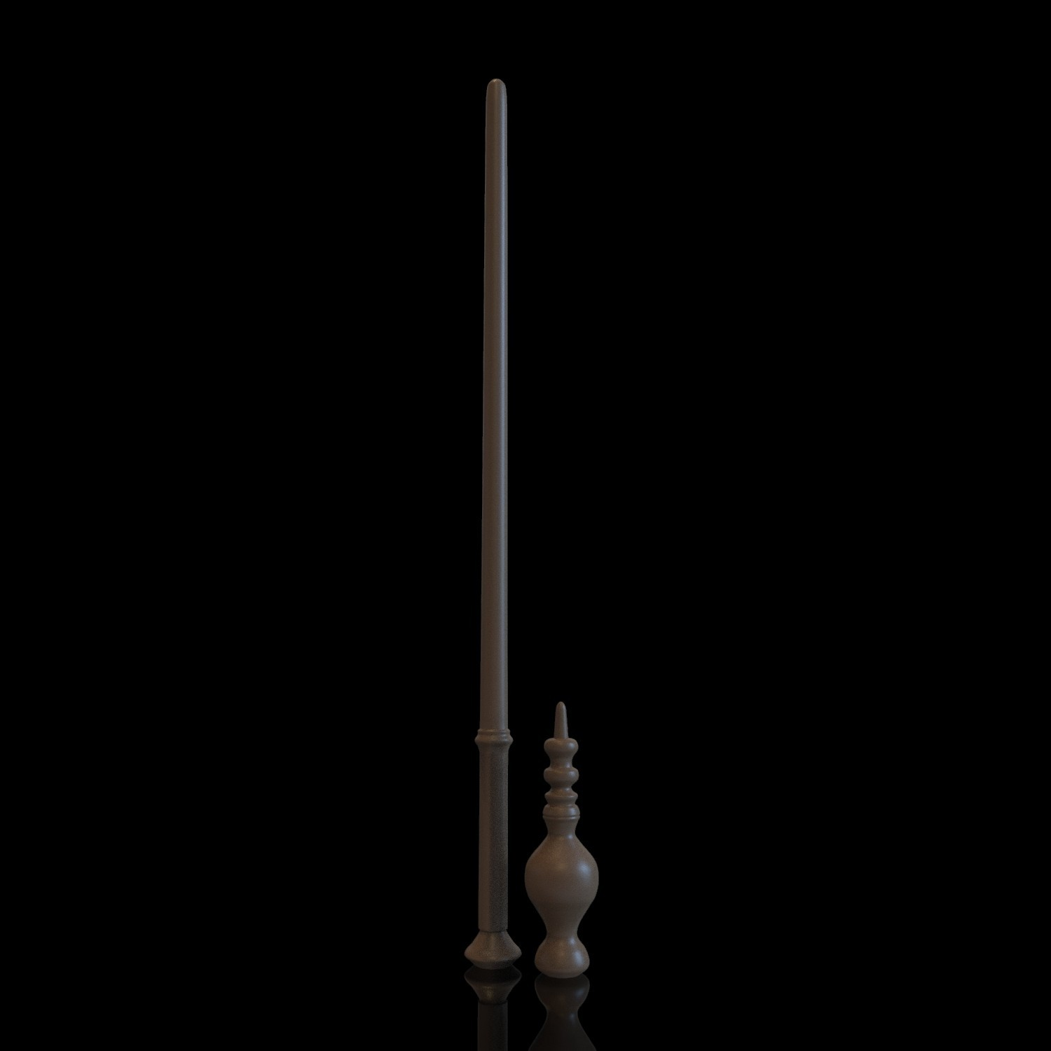 6.jpg Download OBJ file MINERVA MCGONAGALL WAND - HARRY POTTER • 3D printer design, tolgaaxu