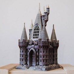 Download 3D printing designs The Five Tower Hall, tolgaaxu