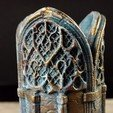11.jpg Download 3DS file Gothic Candle Holder • Object to 3D print, tolgaaxu