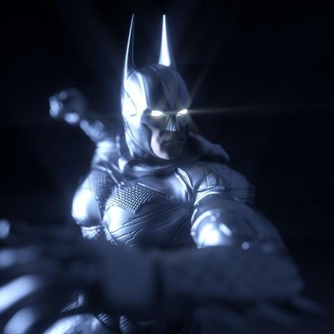 14.jpg Download OBJ file BATMAN Battle Pose • 3D print template, tolgaaxu