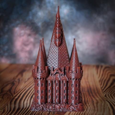 3.jpg Download OBJ file The Five Tower Hall • 3D printable template, tolgaaxu