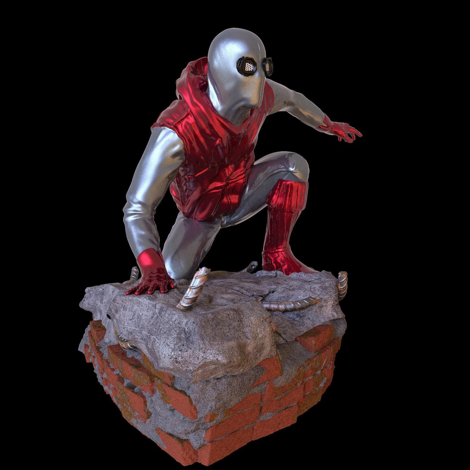 25.jpg Download STL file Spider-Man Homemade Suit • Design to 3D print, tolgaaxu
