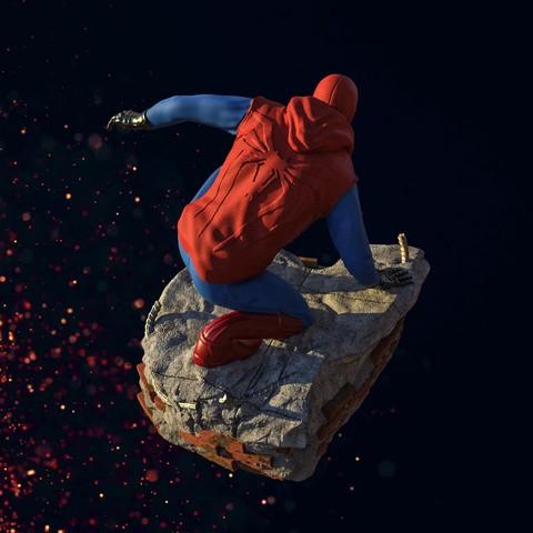 2.jpg Download STL file Spider-Man Homemade Suit • Design to 3D print, tolgaaxu