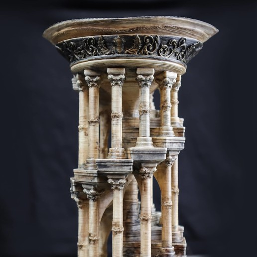 9.jpg Download OBJ file Eternity Columns • 3D printer model, tolgaaxu