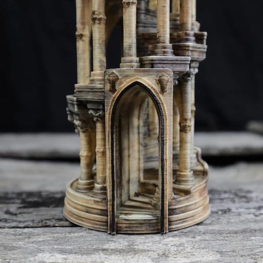 12.jpg Download OBJ file Eternity Columns • 3D printer model, tolgaaxu