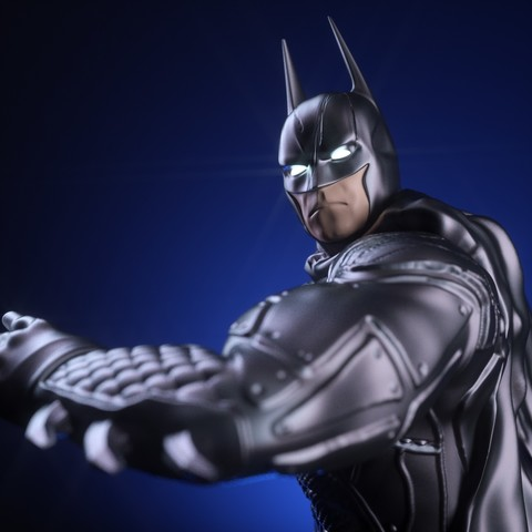 8.jpg Download OBJ file BATMAN Battle Pose • 3D print template, tolgaaxu