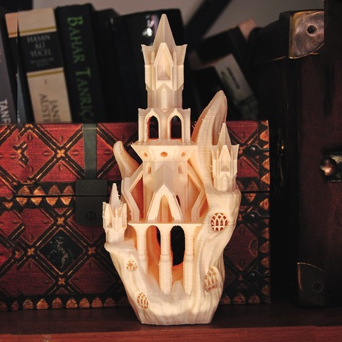 3D print files Elven Flying Fox Citadel, tolgaaxu