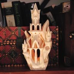 3D print files Elven Flying Fox Citadel, tolgaaxu