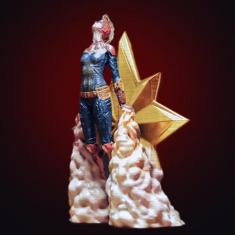 Descargar modelos 3D para imprimir Capitán Maravilla, tolgaaxu