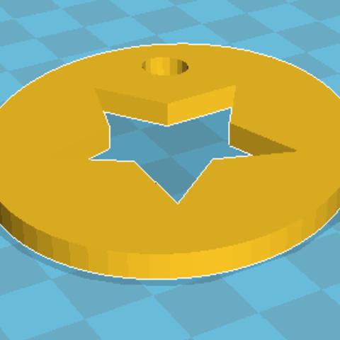 Free 3D printer files Keychain, Windesk_