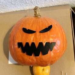 Download free 3D printer files Halloween Decoration: Pumpkin Mouth, weirdcan