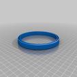 Download free 3D printer designs IKEA ORDNING - garbage bag ring, weirdcan