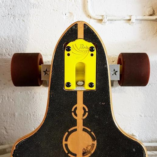 Download free 3D printer templates Longboard Wall Mount, weirdcan