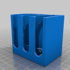 Download free 3D printer designs Panasonic GH4/GH5 Battery Case, weirdcan