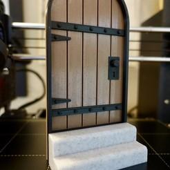 DSC03018_2.jpg Télécharger fichier STL gratuit Porte de Hobbit minuscule • Modèle pour impression 3D, the3dbunny