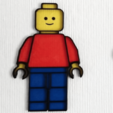 Free STL files Wall Art LEGO Style (multicolor with single extruder), DasMia