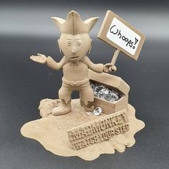 20200625_103605.jpg Download free 3MF file Mad_Monkey's Little Pirate • Design to 3D print, DasMia