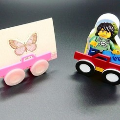 Free STL file Business Card Holder - Multi Color Truck (incl. tutorial), DasMia