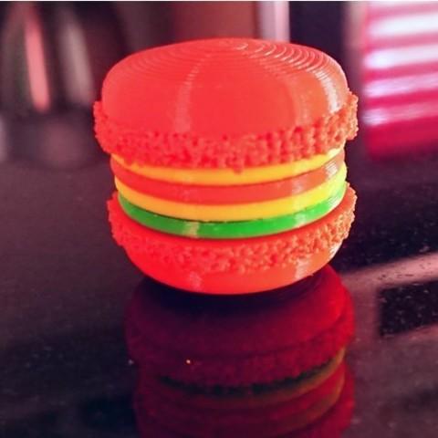 8d9652e920699d46505aab1faf0ddc21_preview_featured.jpg Download free STL file Printable Macaron • 3D printer design, DasMia
