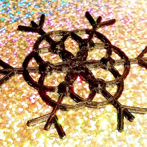 Capture d'écran 2018-04-16 à 14.34.51.png Download free STL file Snowflake Diamonds • 3D print design, DasMia