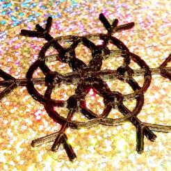 STL gratuit Diamants flocons de neige, DasMia
