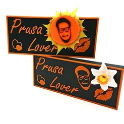 "Free 3D model Frenzy Brick ""Prusa Lover"", DasMia"