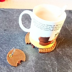 Download free 3D printing files Stroopwafel, DasMia