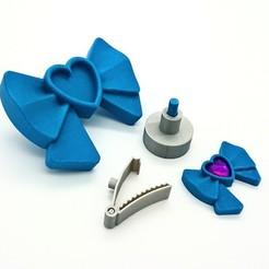 """Impresiones 3D gratis Lazo vestible estilo """"Big LEGO, DasMia"""