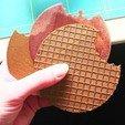 Free 3D print files Stroopwafel, DasMia