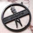 Descargar archivos 3D gratis colgante sin gluten (Anhänger), DasMia
