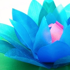 Download free STL file Water Lily (with a hidden secret), DasMia