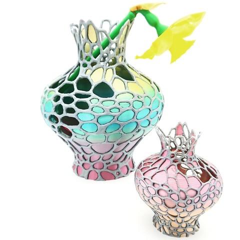 Descargar archivos 3D gratis Ánfora Orgánica, DasMia