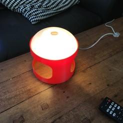 Télécharger fichier imprimante 3D Lampe Design KD27, 3dprintiing