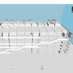 Download STL file Pompidou, 3dprintiing