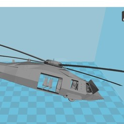 Download STL MHX3 Helicopter, 3dprintiing